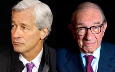 Dimon & Greenspan Both Strike Cautionary Notes on the Bond Market