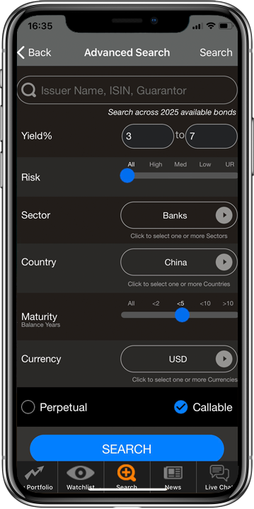 Track Live Corporate Bond Prices & Manage Your Bond Portfolio on Mobile