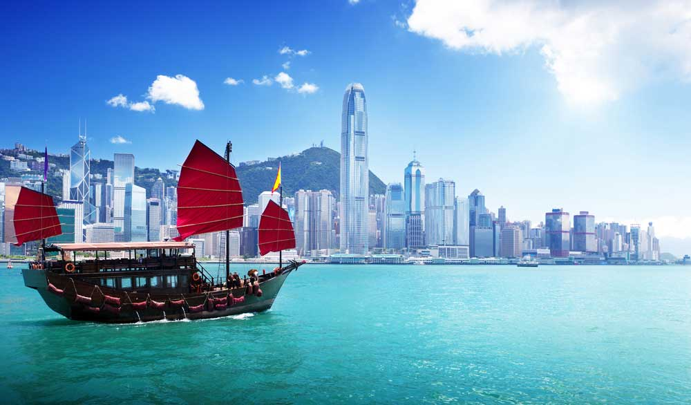 HK Chinese junk