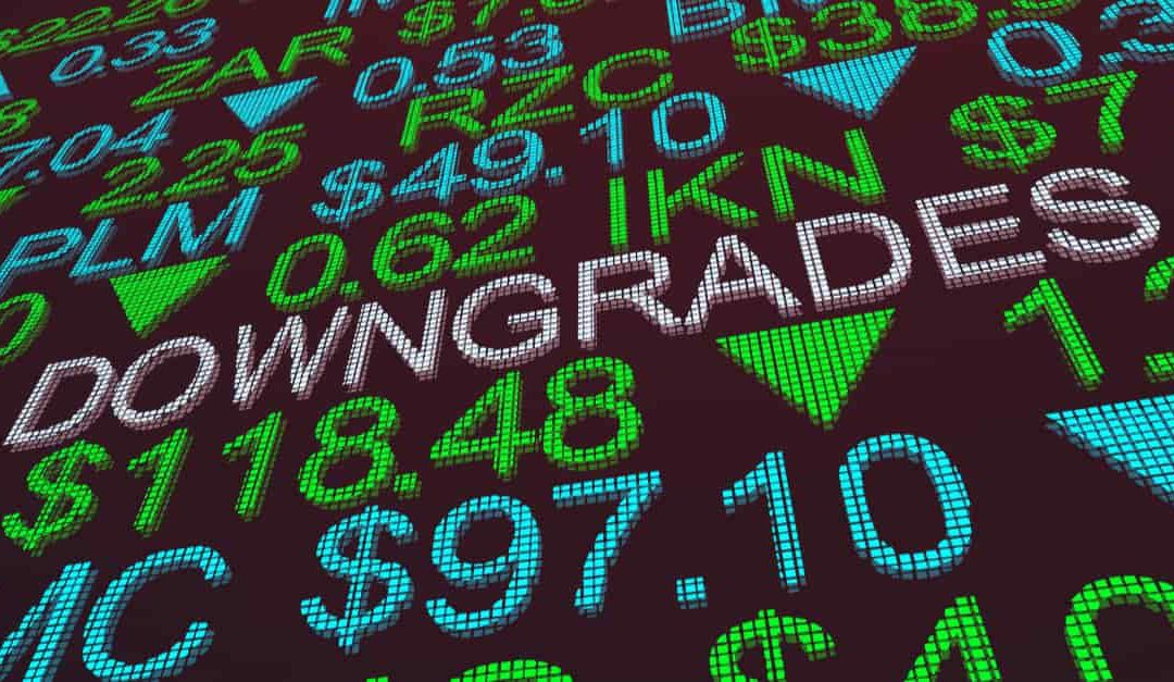 Credit Rating Downgrades