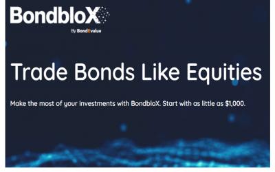 The BondbloX Bond Exchange Goes Live