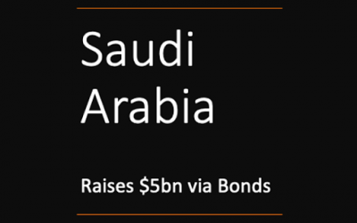 Saudi Arabia Raises $5 Billion via New Bonds