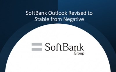 Softbank Outlook Revised to Stable from Negative by S&P