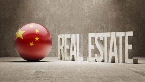China Real Estate Bond Spreads Widen