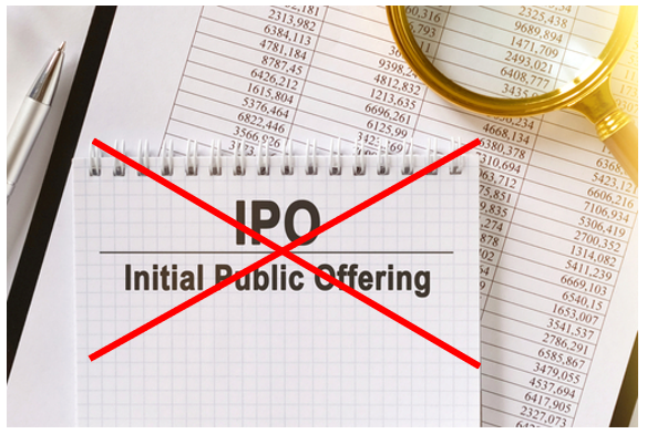 IPO Cancelled